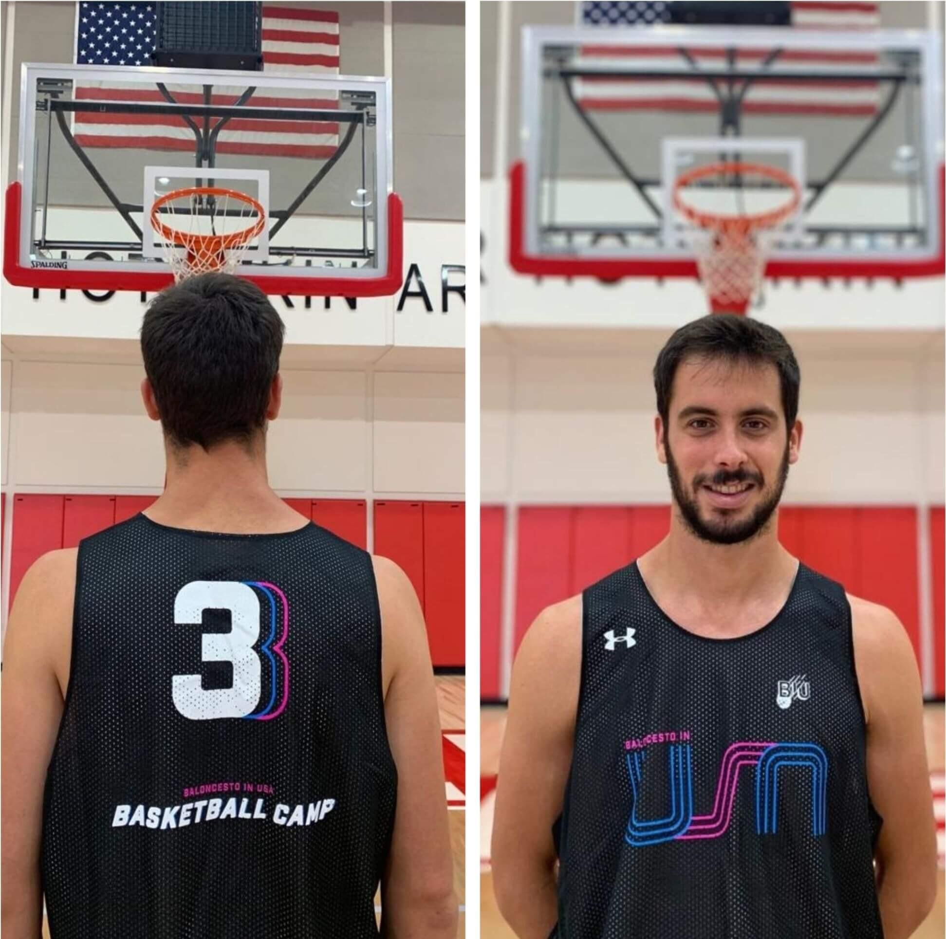 Camiseta de baloncesto BIU