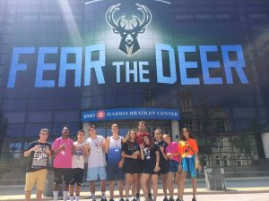 Campo de los Milwaukee Bucks de la NBA