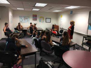 Clases de inglés: el primer día